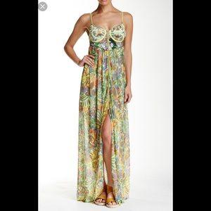Beautiful Maaji corset maxi dress M